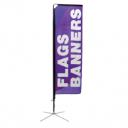 Square Flag (Small) Single Sided