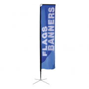 Square Banner Stand Medium Single Sided