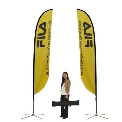 Feather Banner Stand Medium Single Sided