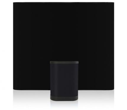 Pop Up Display Straight 9ft Fabric Package - black