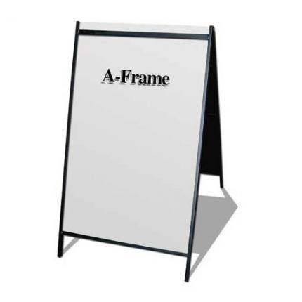2 side A Frame Steel Sign